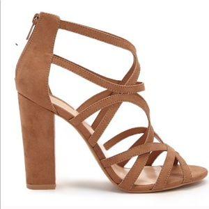 Forever 21 peep toe sandals